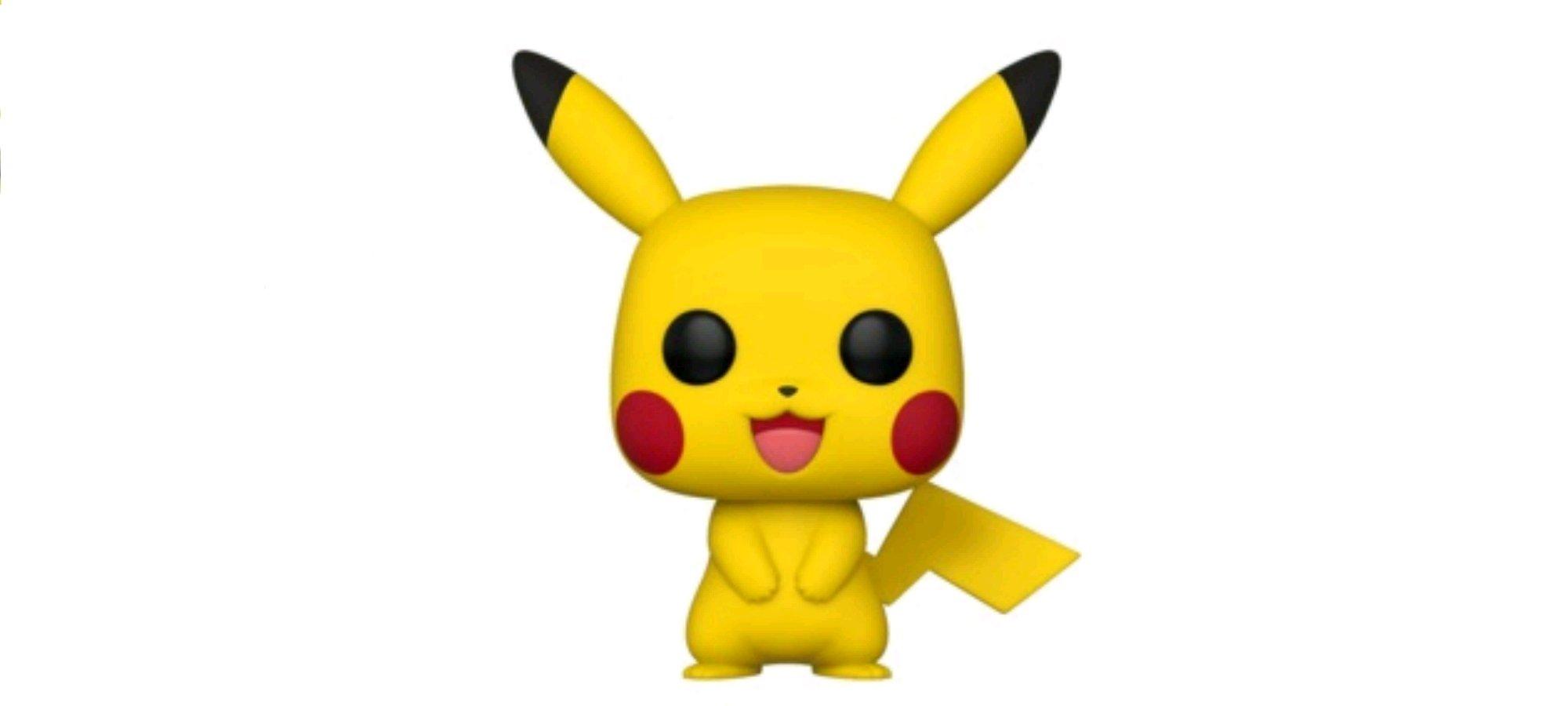 Анонсирована фигурка Pikachu Pop 1