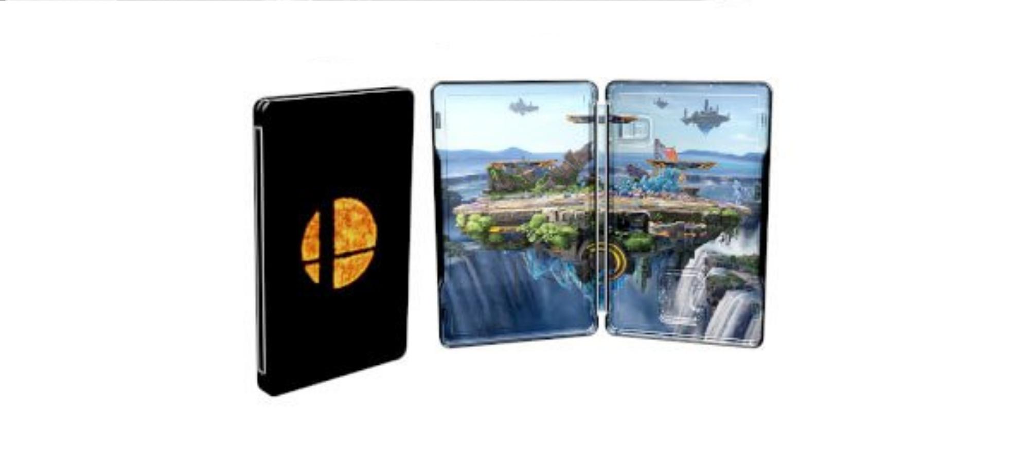 За предзаказ SSB Ultimate Limited Edition дадут стилбук. 1