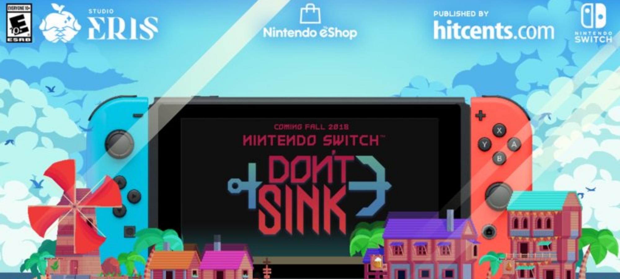 Don't Sink анонсирована на Nintendo Switch. 1