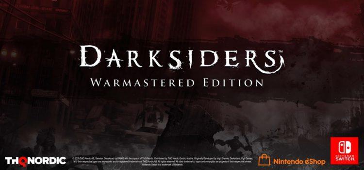 Darksiders Warmastered Edition выйдет на Switch.