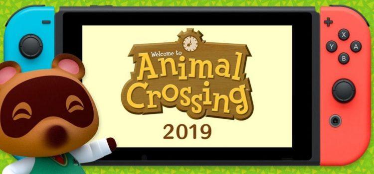 Стала известна возможная дата выхода Animal Crossing на Switch