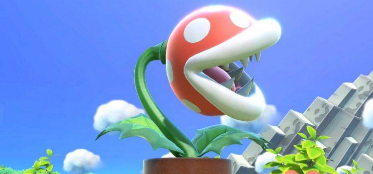 Nintendo не смогли подтвердить проблему с цветком-пираньей в SSB Ultimate