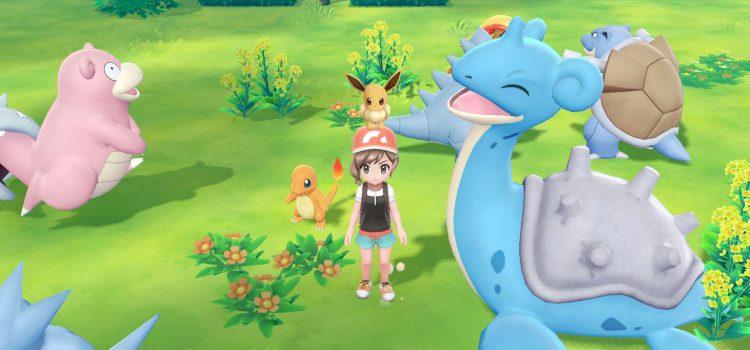 В eShop появилась демо-версия Pokemon Let's Go!
